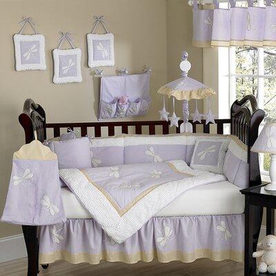 Sweet Jojo Designs Dragonfly Dreams Crib Bedding Set - Color: Green