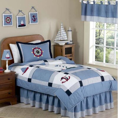 Come Sail Away 4 Piece Twin Comforter Set