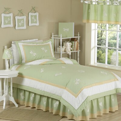 Green Dragonfly Dreams Kid Twin Comforter Collection