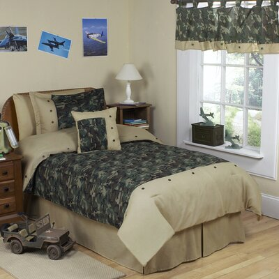 Camo Green Kid Bedding Comforter Collection