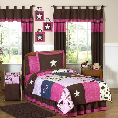 Cowgirl 4 Piece Twin Comforter Set