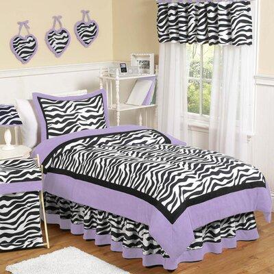 Zebra Comforter Set Size: Twin