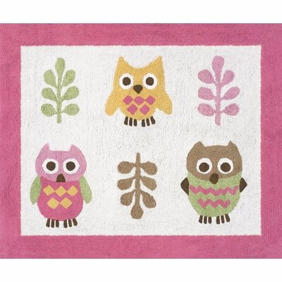 Happy Owl Kids Floor Rug Rug Size: 26 x 3
