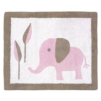 Elephant Kids Rug Rug Size: 26 x 3