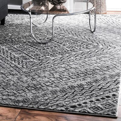 Sacramento Dark Gray Area Rug Rug Size: Rectangle 5 x 8