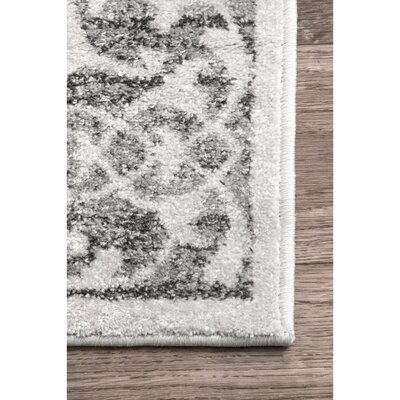 Southampton Gray Area Rug Rug Size: Rectangle 76 x 96