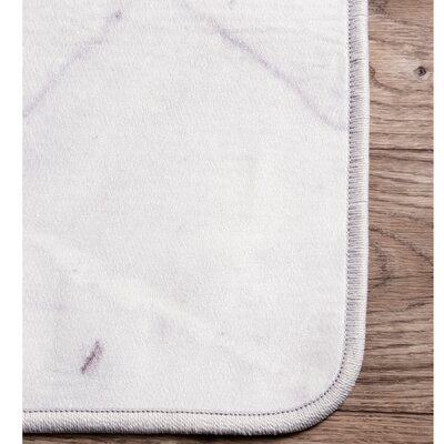Marion Off White Area Rug Rug Size: Rectangle 5 x 75