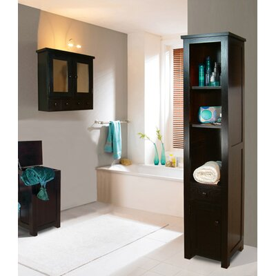 narrow bathroom cabinet storage