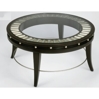 Artmax Round Coffee Table in Gold and Silverleaf (RXE1045)