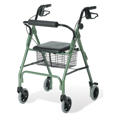 Guardian Envoy 460 Rolling Walker - Color: Blue