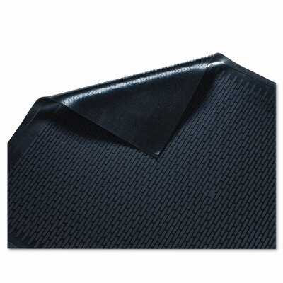 Clean Step Scraper Solid Doormat Mat Size: Rectangle 36 x 60