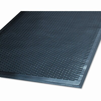 Clean Step Scraper Solid Doormat Size: 48 x 72