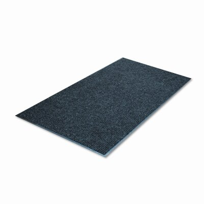 Golden Series - Dual Rib Solid Doormat Mat Size: Rectangle 36 x 60
