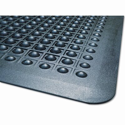 Flex Step Polka Dot Doormat Mat Size: Rectangle 24 x 36