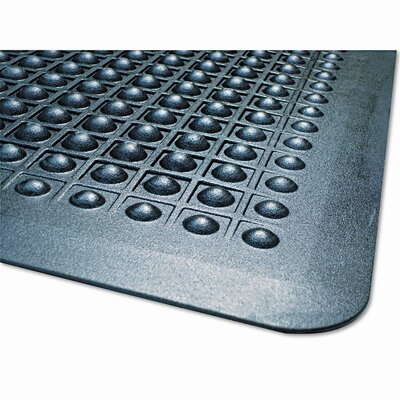 Flex Step Polka Dot Doormat Size: 36 x 60
