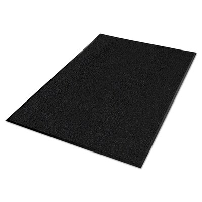 Platinum Series Indoor Wiper Doormat Rug Size: Runner 3 x 10, Color: Black