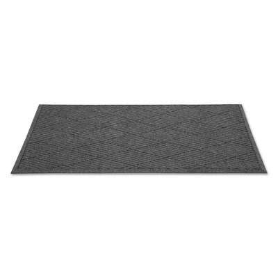 Rectangle Diamond Doormat Rug Size: Runner 3 x 10