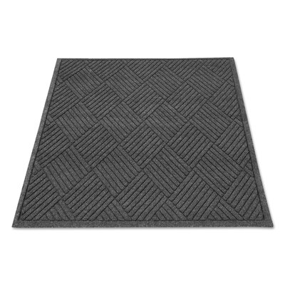 Rectangle Diamond Doormat Rug Size: 3 x 4