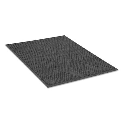 Rectangle Diamond Doormat Rug Size: 4' x 6'