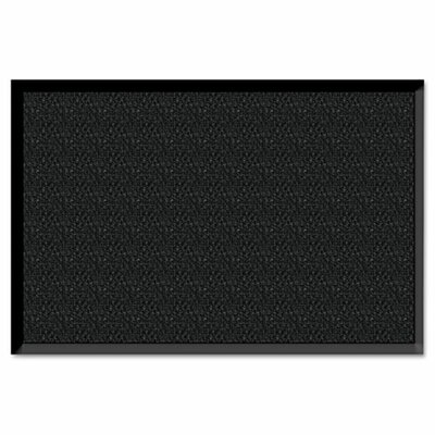 Solid Doormat Size: 60 H x 36 W, Color: Charcoal