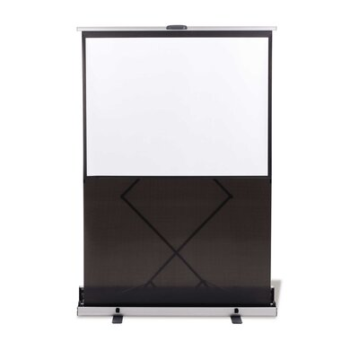 Matte White Portable Projection Screen Viewing Area: 80 H x 80 W