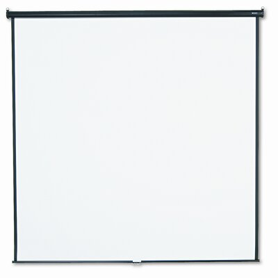 Matte White Manual Projection Screen Size: 96 H x 96 W