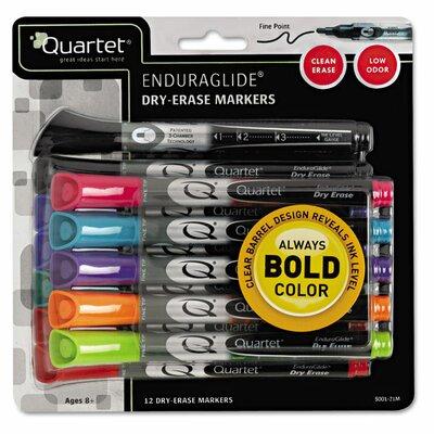 EnduraGlide Dry Erase Marker (Pack of 12) QRT500120M