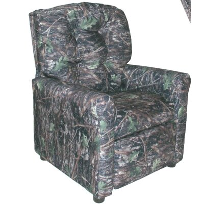 4 Button Camo Kids Recliner Color: Camouflage True Timber Conceal