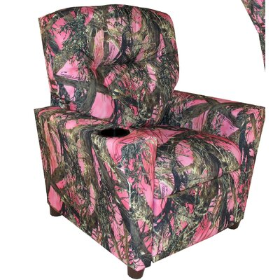 Camo Kids Recliner with Cup Holder 11820