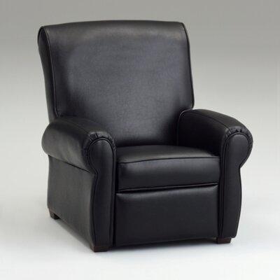 Big Like Kids Recliner Color: Black Leather Like 1000 Black