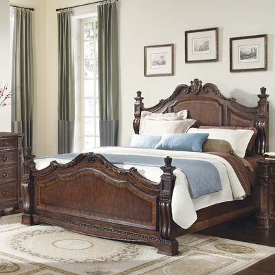 Capri Panel Bed Size: California King