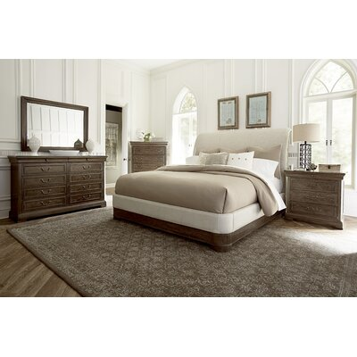 Pond Brook Queen Upholstered Sleigh Headboard