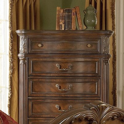 Furniture rental Regal 6 Drawer Chest Finish: Cherry...