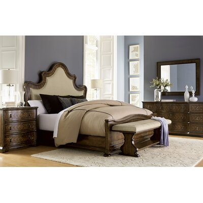Drumlee Upholstered Platform Bed Size: Queen