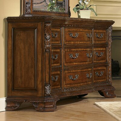 Brussels 9 Drawer Standard Dresser