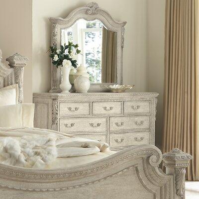 Schwerin 9 Drawer Dresser with Mirror