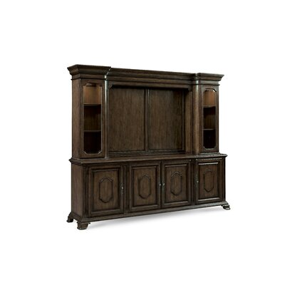 Sofitel 99 TV Stand Color: Nutmeg, Size: 34 H x 99 W x 20.75 D