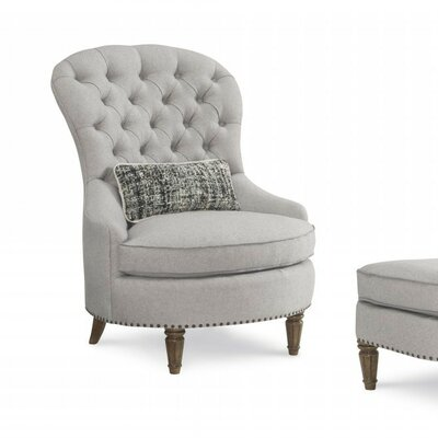 One Upholstered Christiansen Tufted Arm Chair
