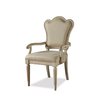 Daniella Upholstered Back Arm Chair (Set of 2)