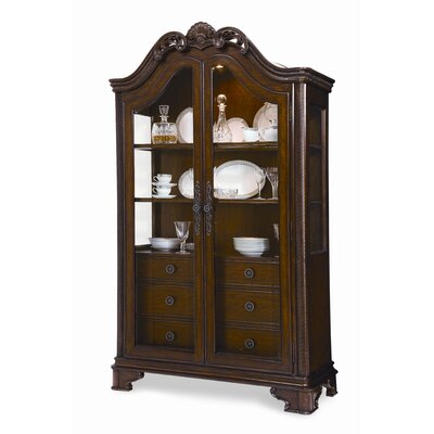 Image of A.R.T. British Heritage Cabinet in Distressed Mahogany (ATF1481)