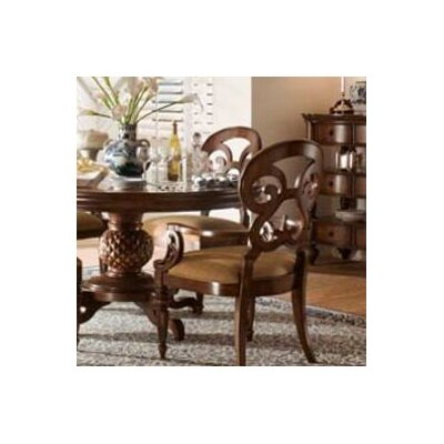 British Heritage Butterfly Back Arm Chair