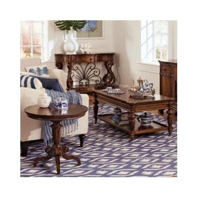 British Heritage 3 Piece Coffee Table Set