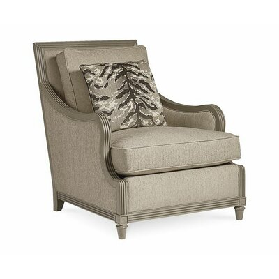 Dule Transitional Armchair Finish: Sandstone