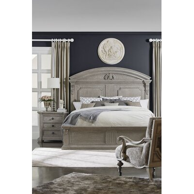 Carolin Chambers Panel Headboard Size: Queen, Color: Gray