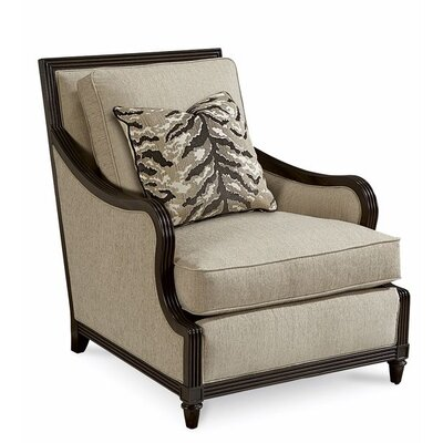 Dule Transitional Armchair Finish: Coffee
