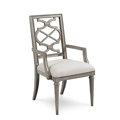 Delahunt Arm Chair (Set of 2) Finish: Sandstone