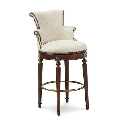 Autberry Transitional Bar Stool