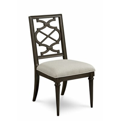 Delahunt Side Chair (Set of 2) Finish: Coffee