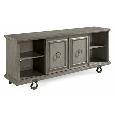 Delahunt Entertainment Console Table Finish: Sandstone
