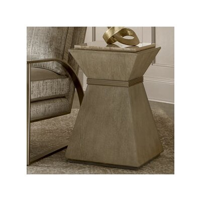 Albright Gray End Table